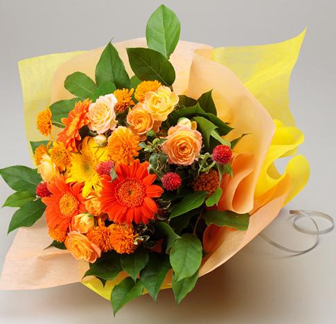母の日に元気なお花を